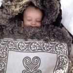 Sovsäck / åkpåse / sittunderlag
